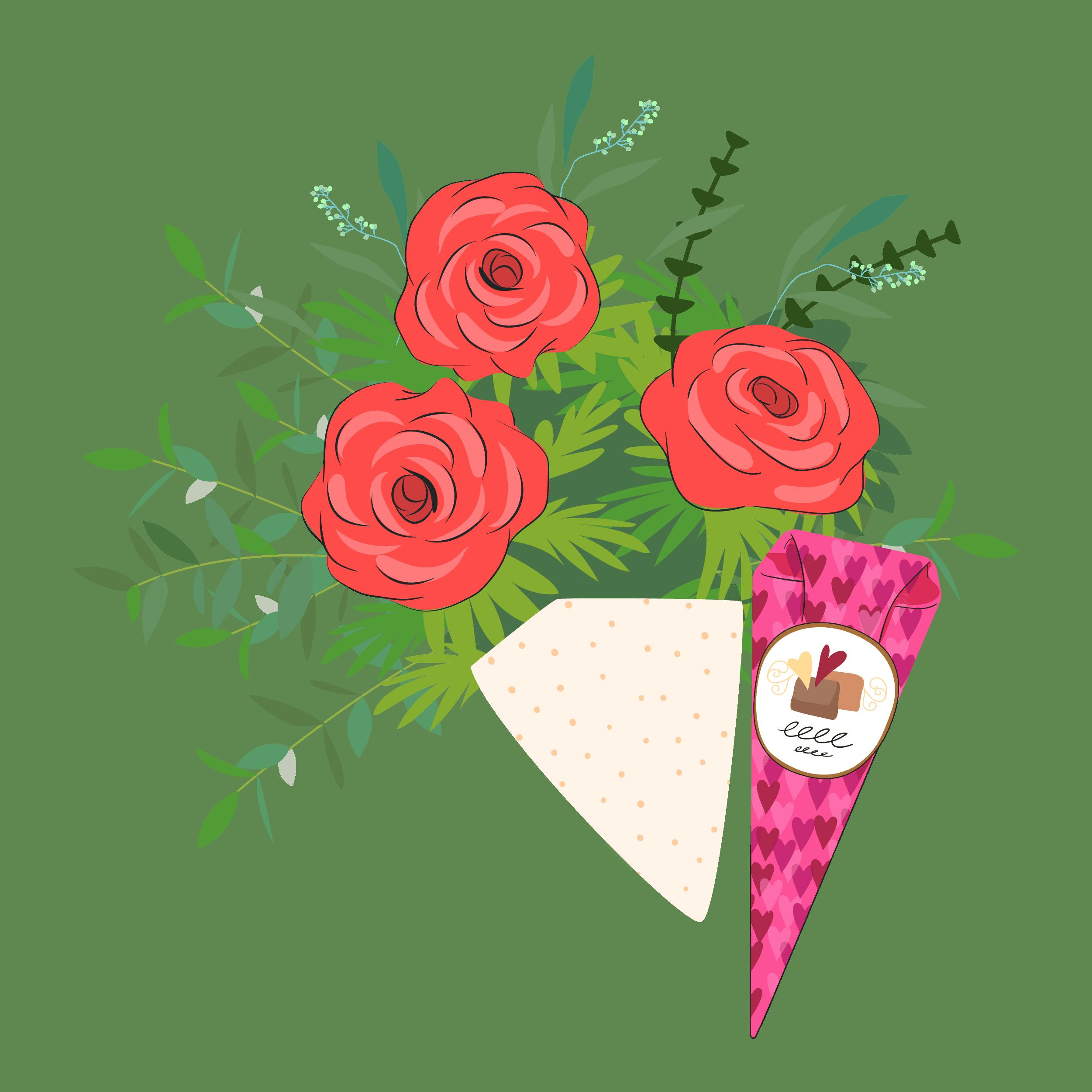 blombud med choklad kan förhöja upplevelsen när du skickar blommor